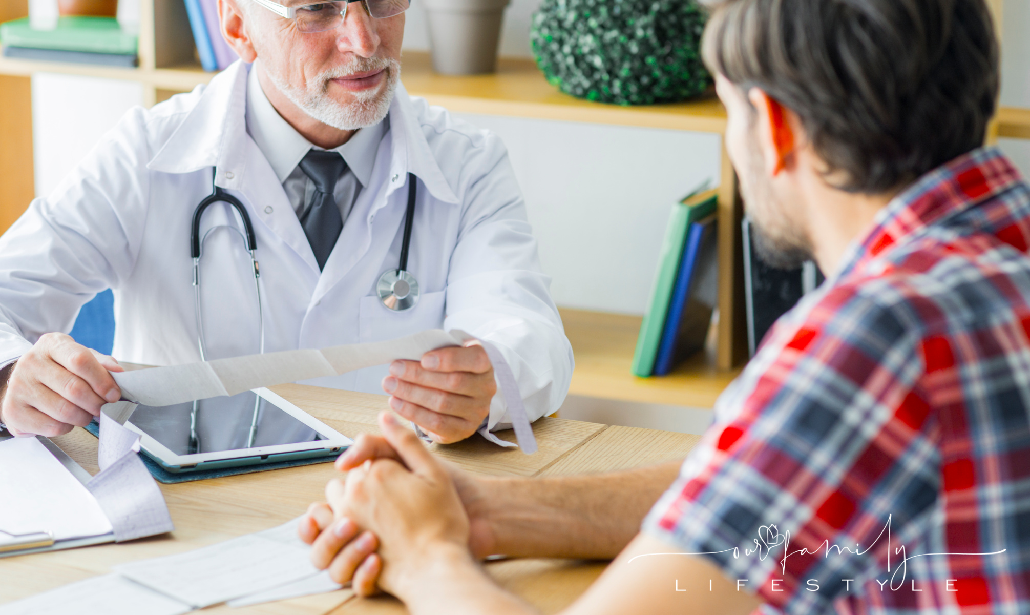 doctor-listening-to-male-patient