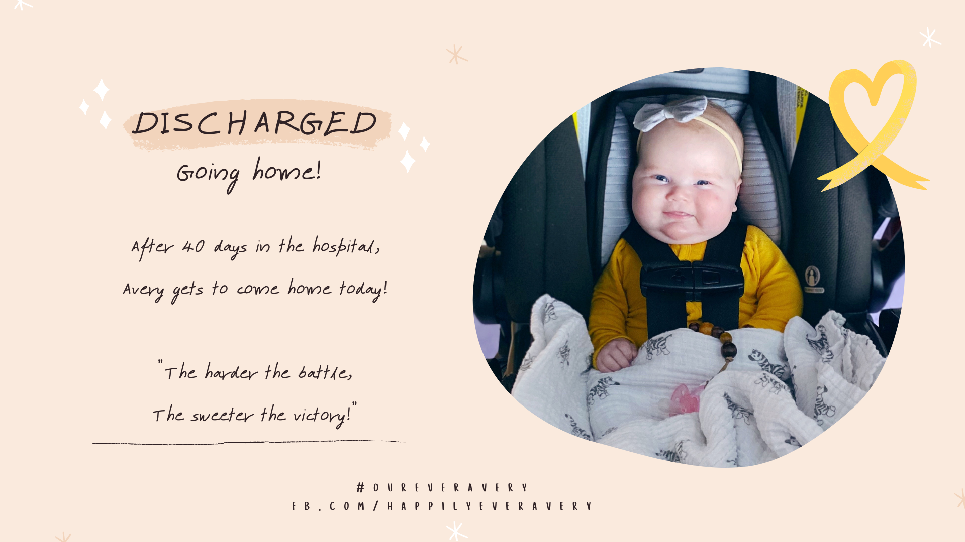 Happily Ever Avery // Look Who Got Discharged!