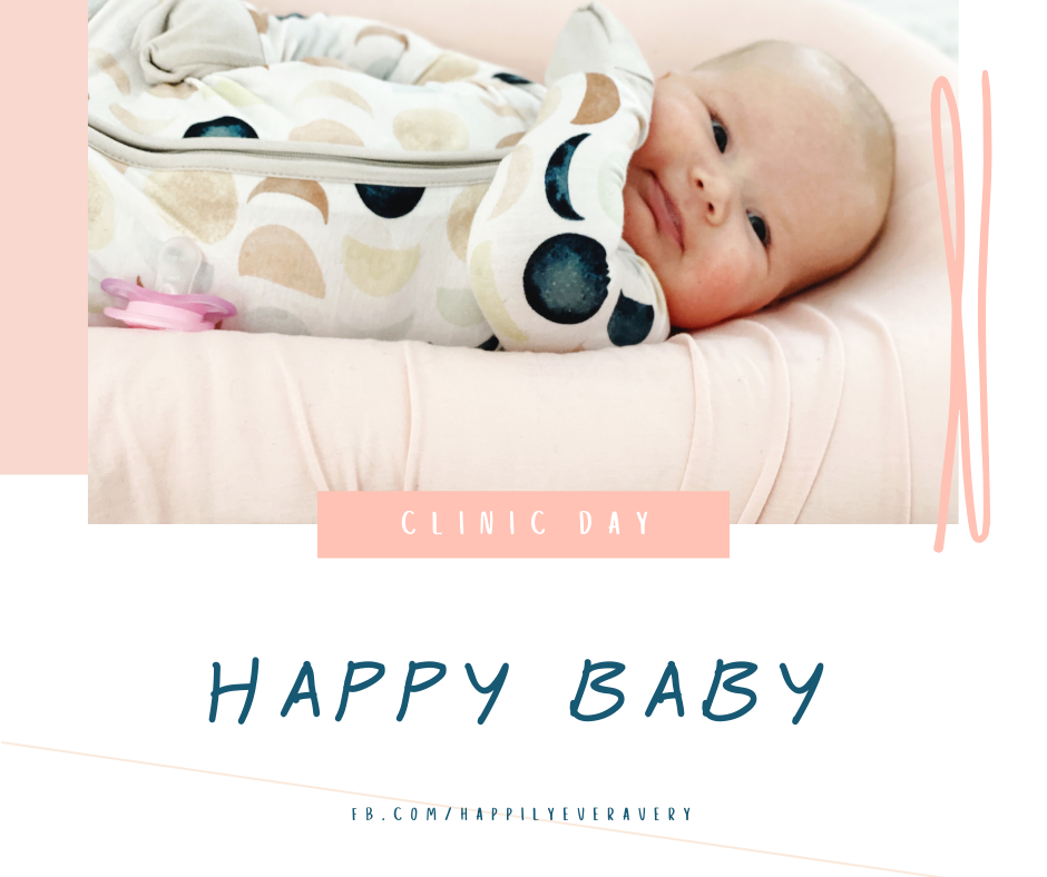 Happily Ever Avery // Early Clinic Day Due to Snow