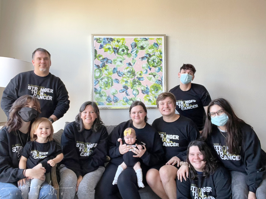 our family is stronger than cancer
