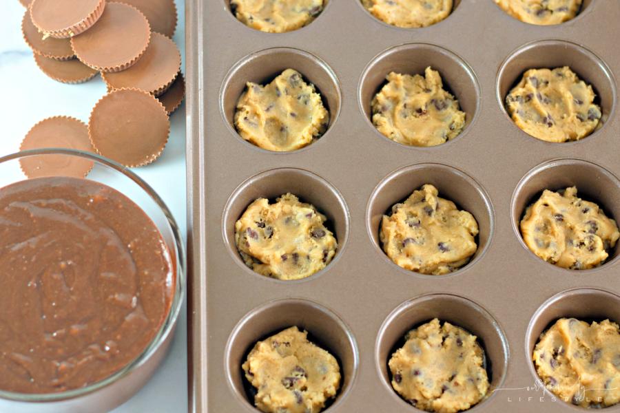 Chocolate Chip Cookie Dough Brookies
