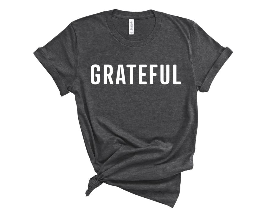 Grateful T-Shirt // Gratitude Shirt