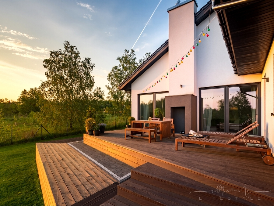 Outdoor deck and patio ideas