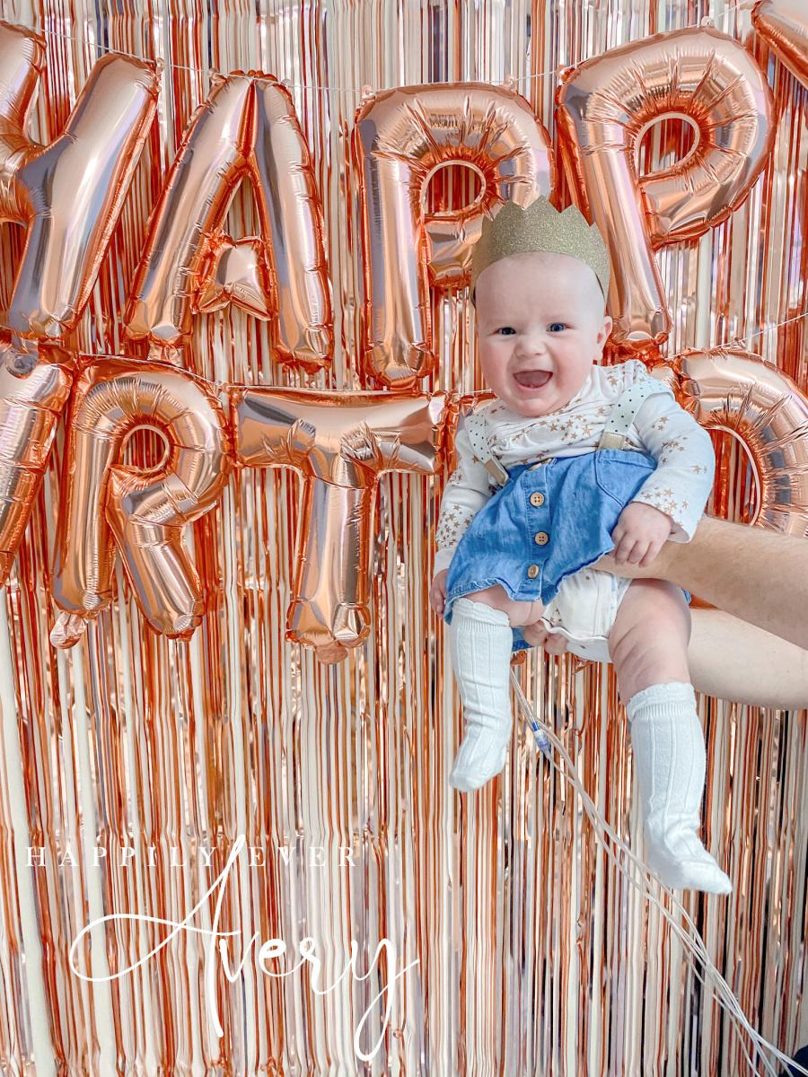 happy 6 month birthday Avery