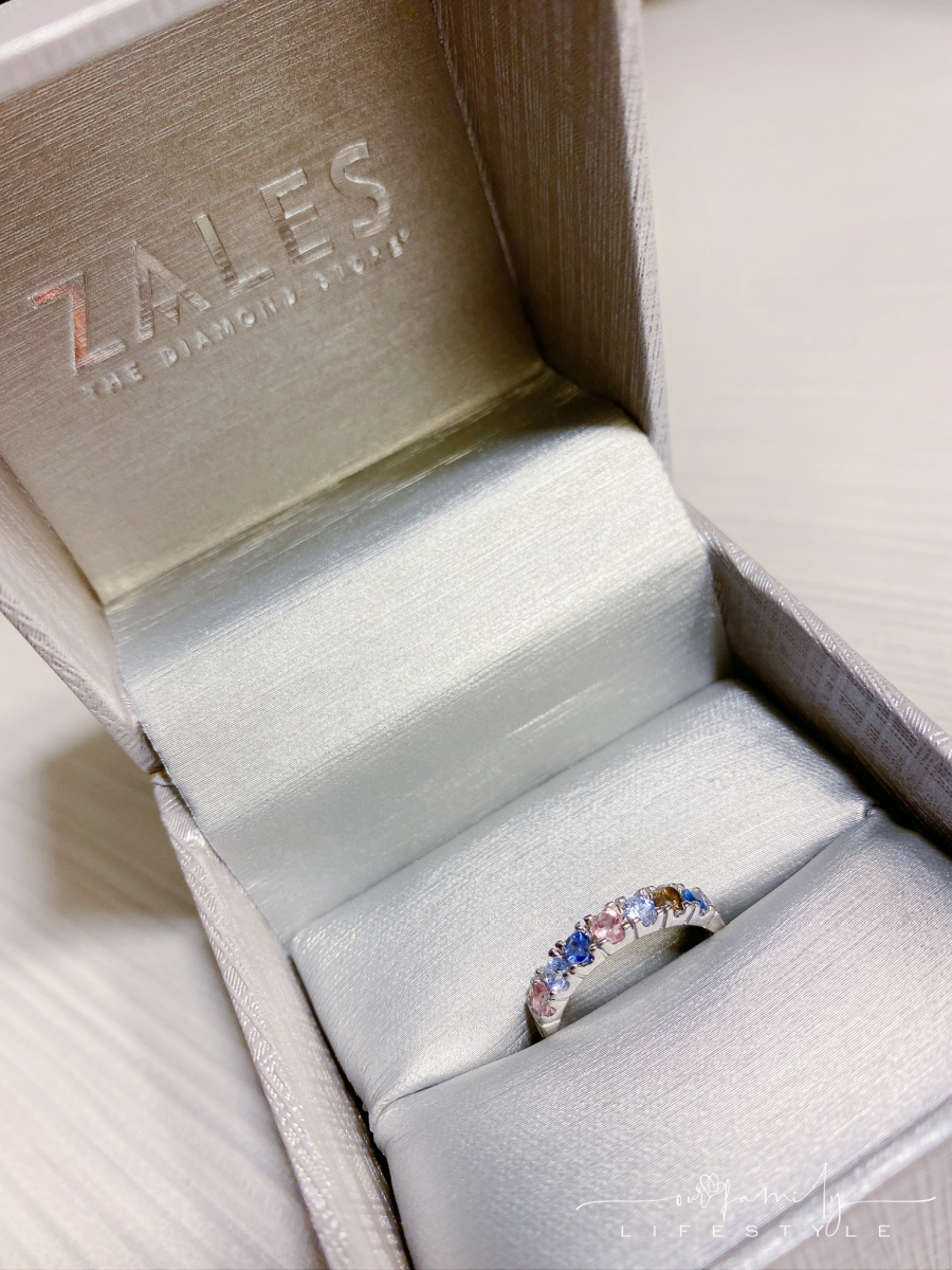 7-stone mother's ring from Zales