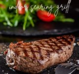 How to Cook Steak on an Indoor Searing Grill