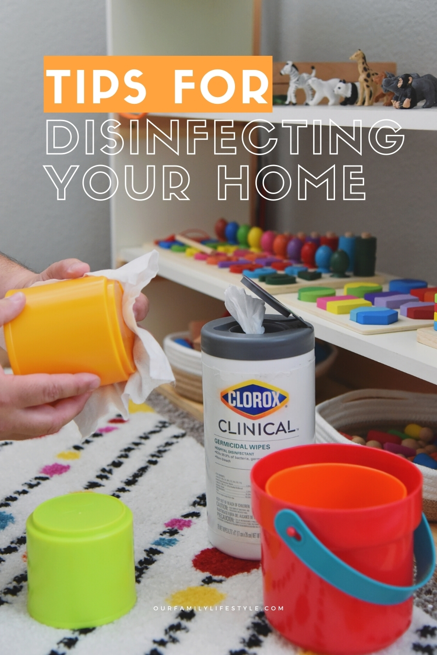 Tips for Disinfecting Your Home with Clorox Clinical