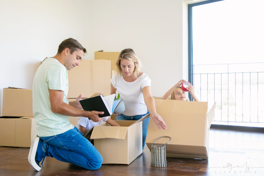 Take the Stress Out of Moving with Your Family