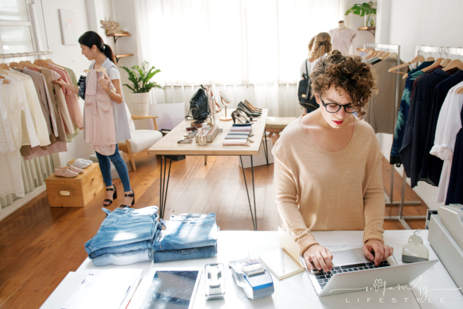 female-business-owner-using-laptop