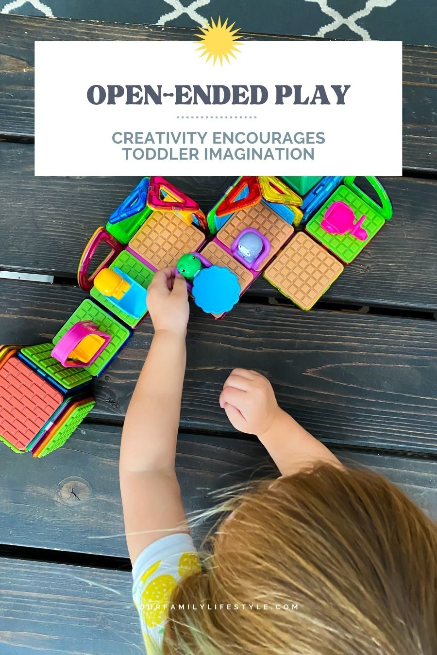 Open-ended Play: Creativity Encourages Toddler Imagination