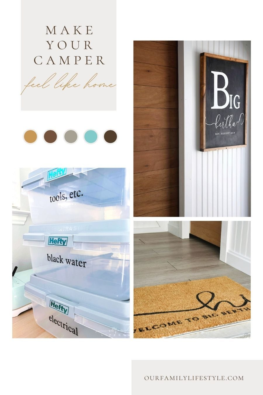 Cricut-Made RV Accessories to Make Your Camper Feel Like Home