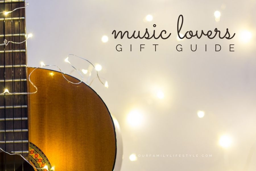 Music Lovers Gift Guide || Holidays 2021