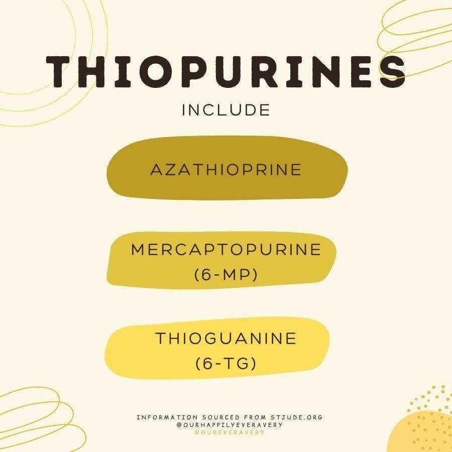 Thiopurines
