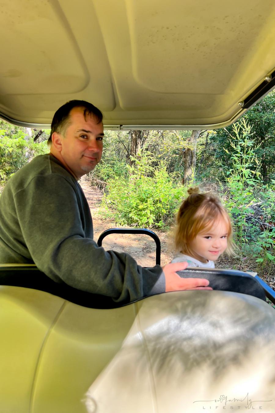 golf cart rentals at Jellystone Park